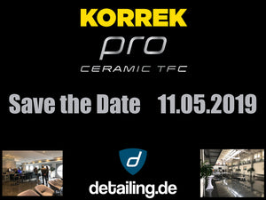 KORREK Pro Event für Neukunden am 11.05.2019 in der Dauphin Speed Event Halle