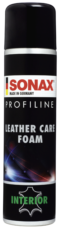 SONAX Profiline Leather Care Foam, Lederreiniger & Pflege 400ml