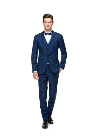 Navy tuxedo custom made ottotos