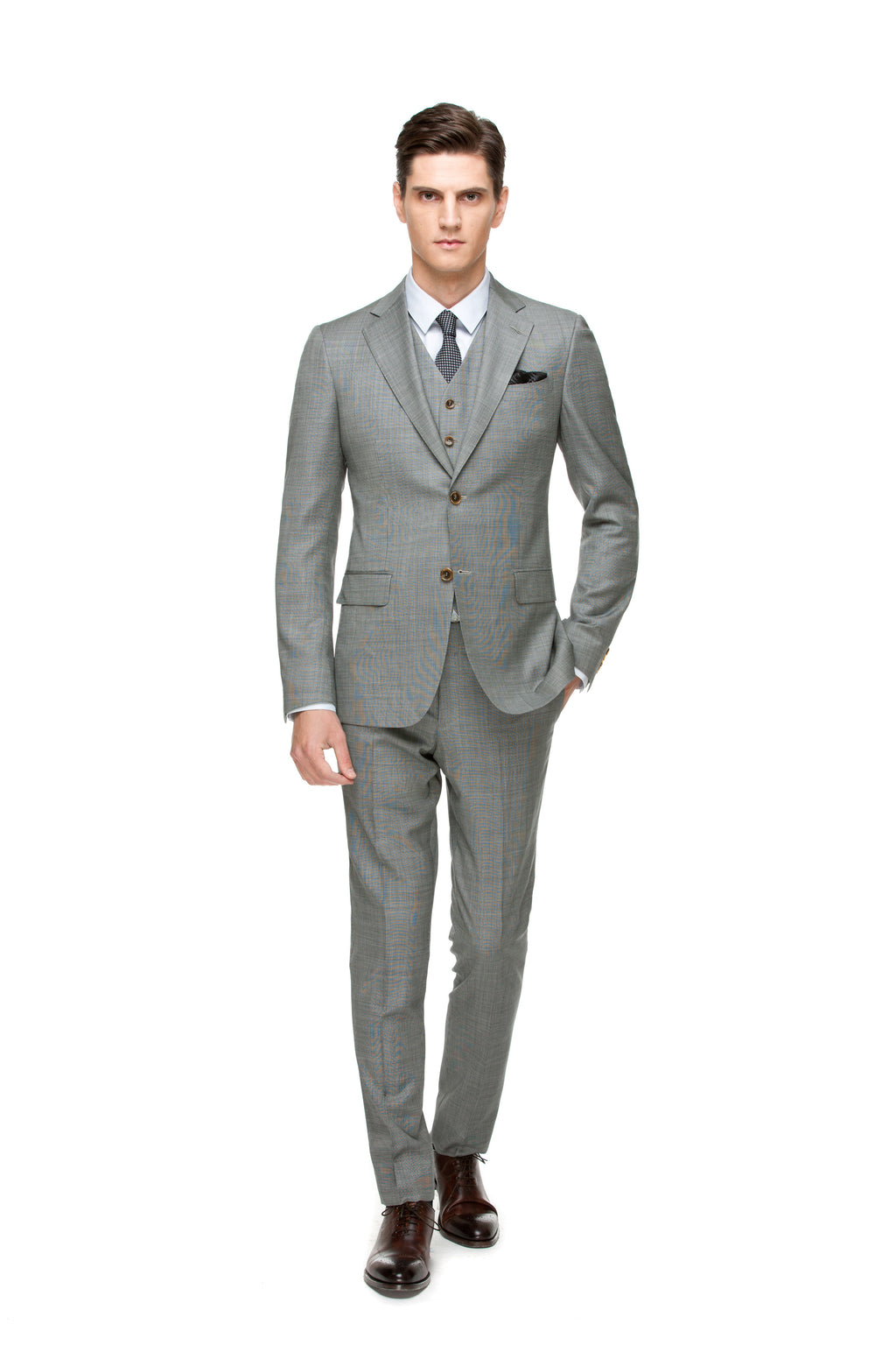 Grey Custom suit ottotos