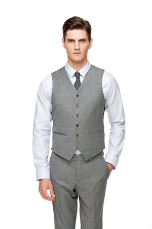 Custom Grey V Standard Shape Vest ottotos
