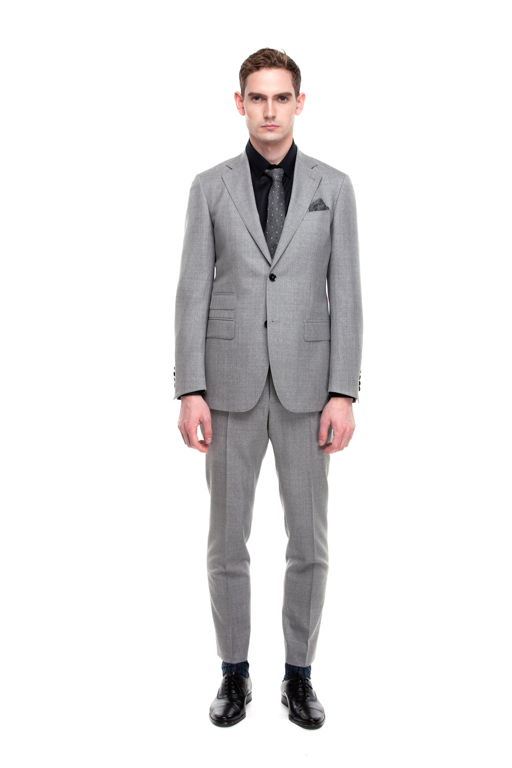 Custom Grey Signature Office Suit ottotos