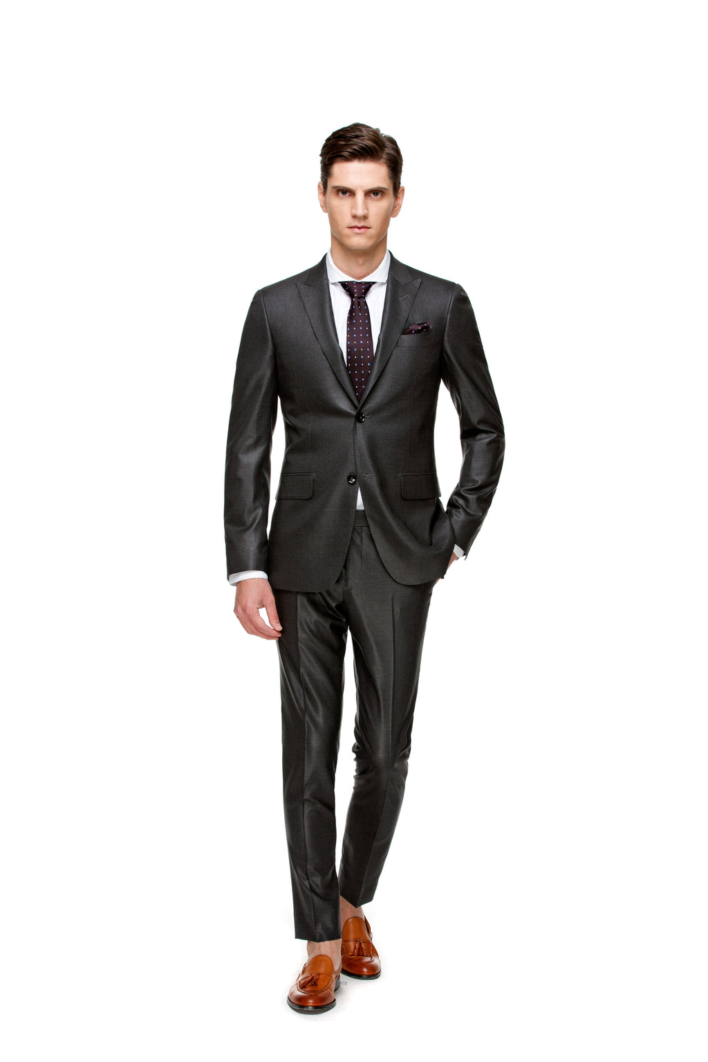 ottotos Grey Custom suit