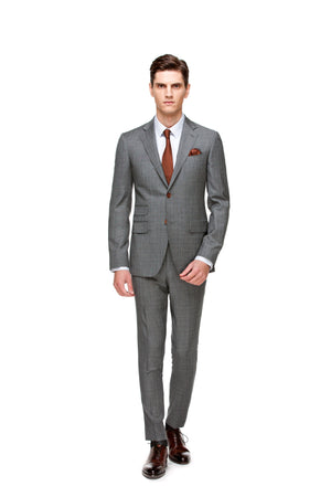 latest releases best quality world-wide selection of Custom Grey Signature Suit