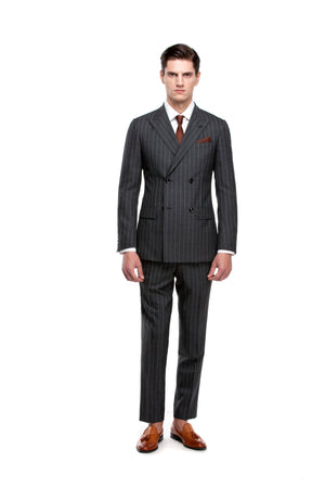 ottotos Custom Grey Signature Suit