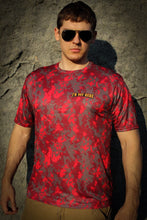 Red Digital Camo Shirt