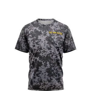 Black Digital Camo Shirt