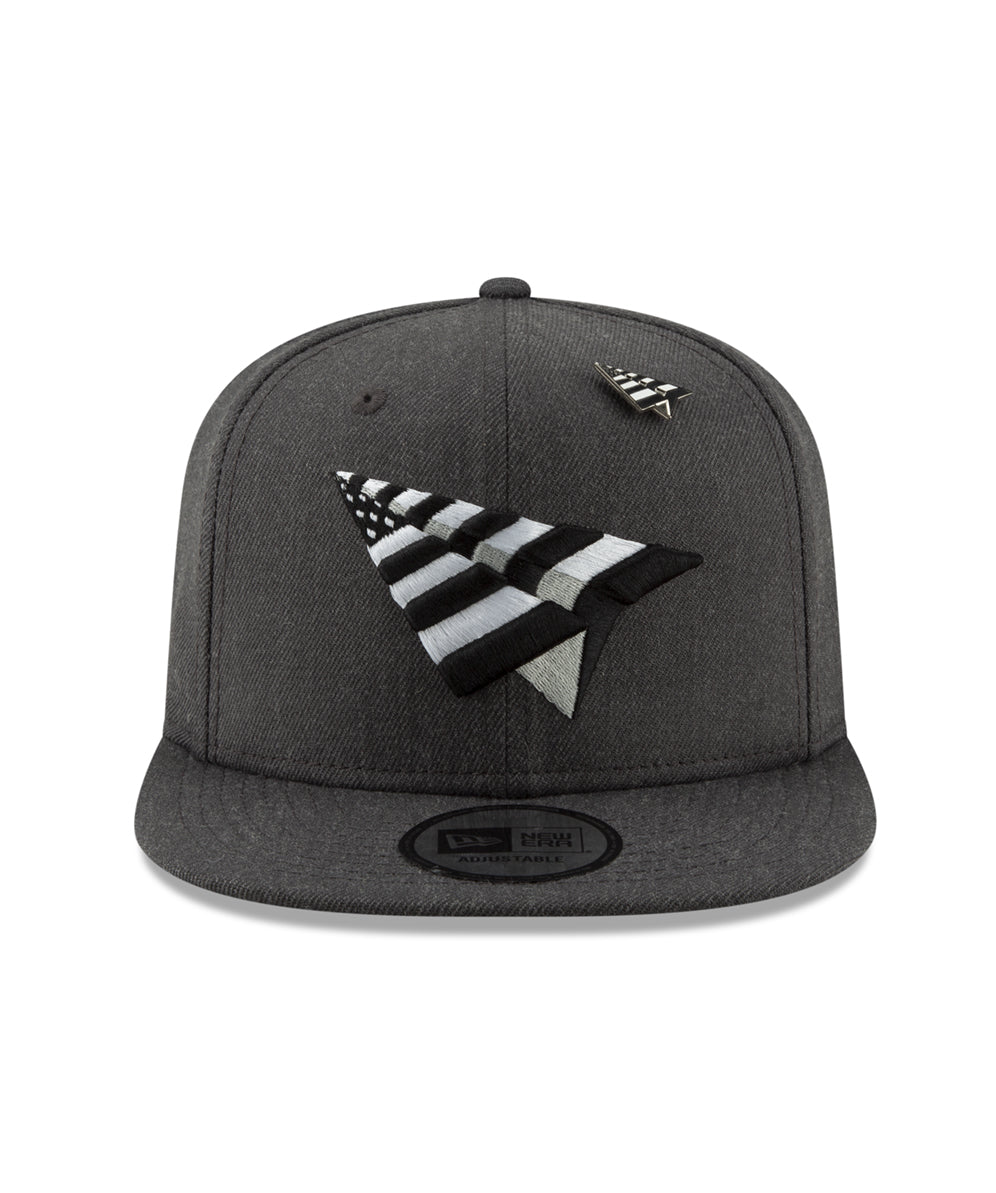 Charcoal Crown Old School Snapback