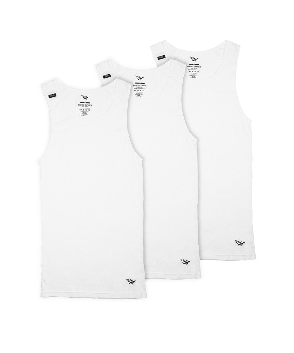 Essential 3 Pack Ribbed Tank