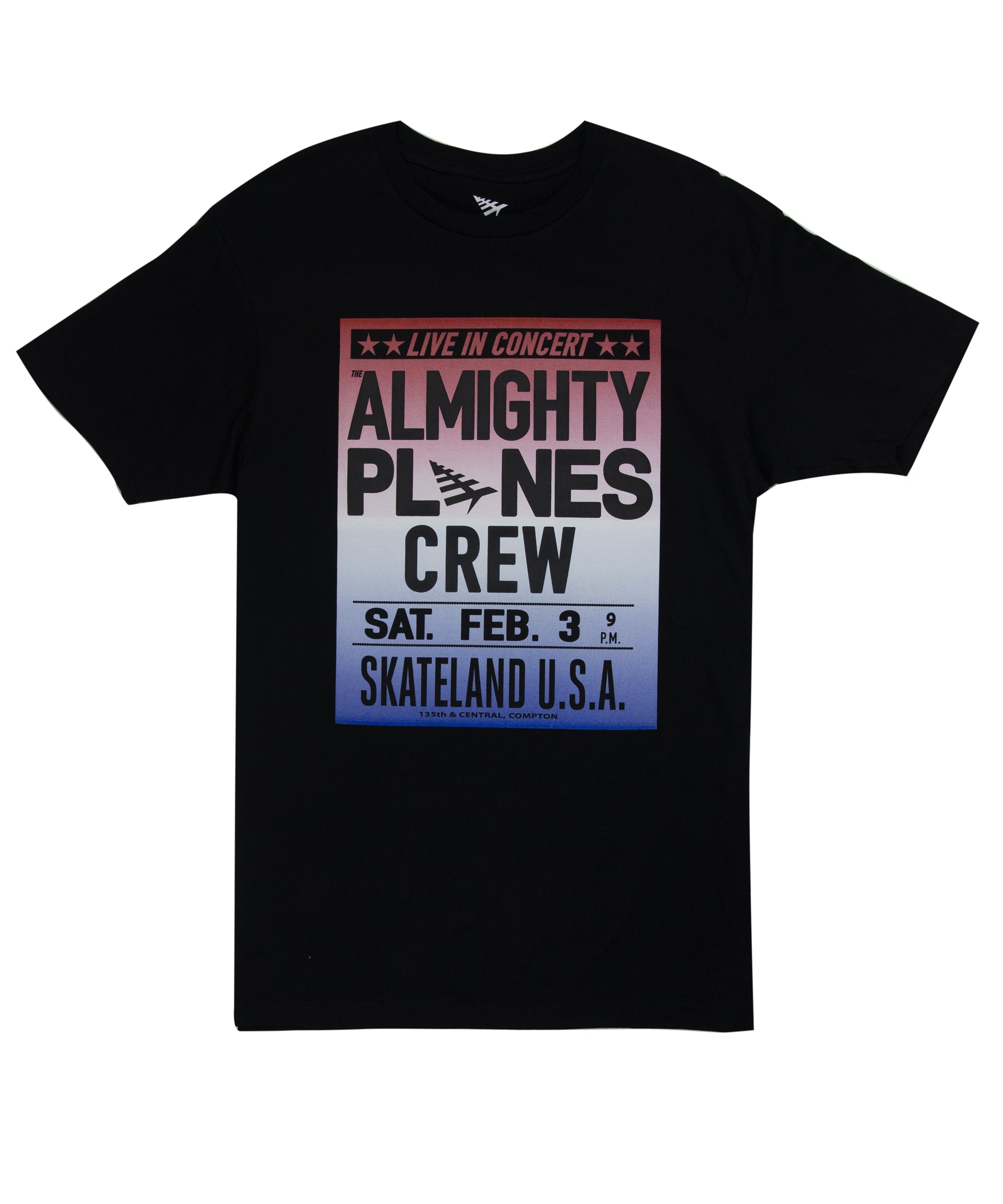 Almighty Planes Crew Tee