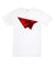 Planes Triple Red Bevel Tee