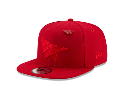 triple-color-crown-old-school-snapback-triple-red-three-quarters-left-view-hats-paperplanes