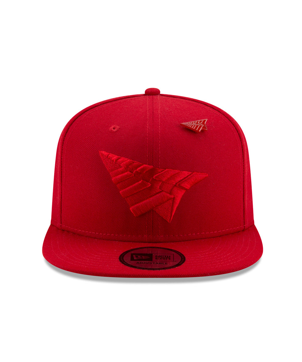 Triple Color Crown Old School Snapback
