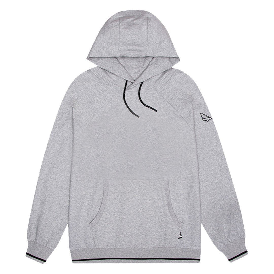 Heather Grey Solid Hoodie