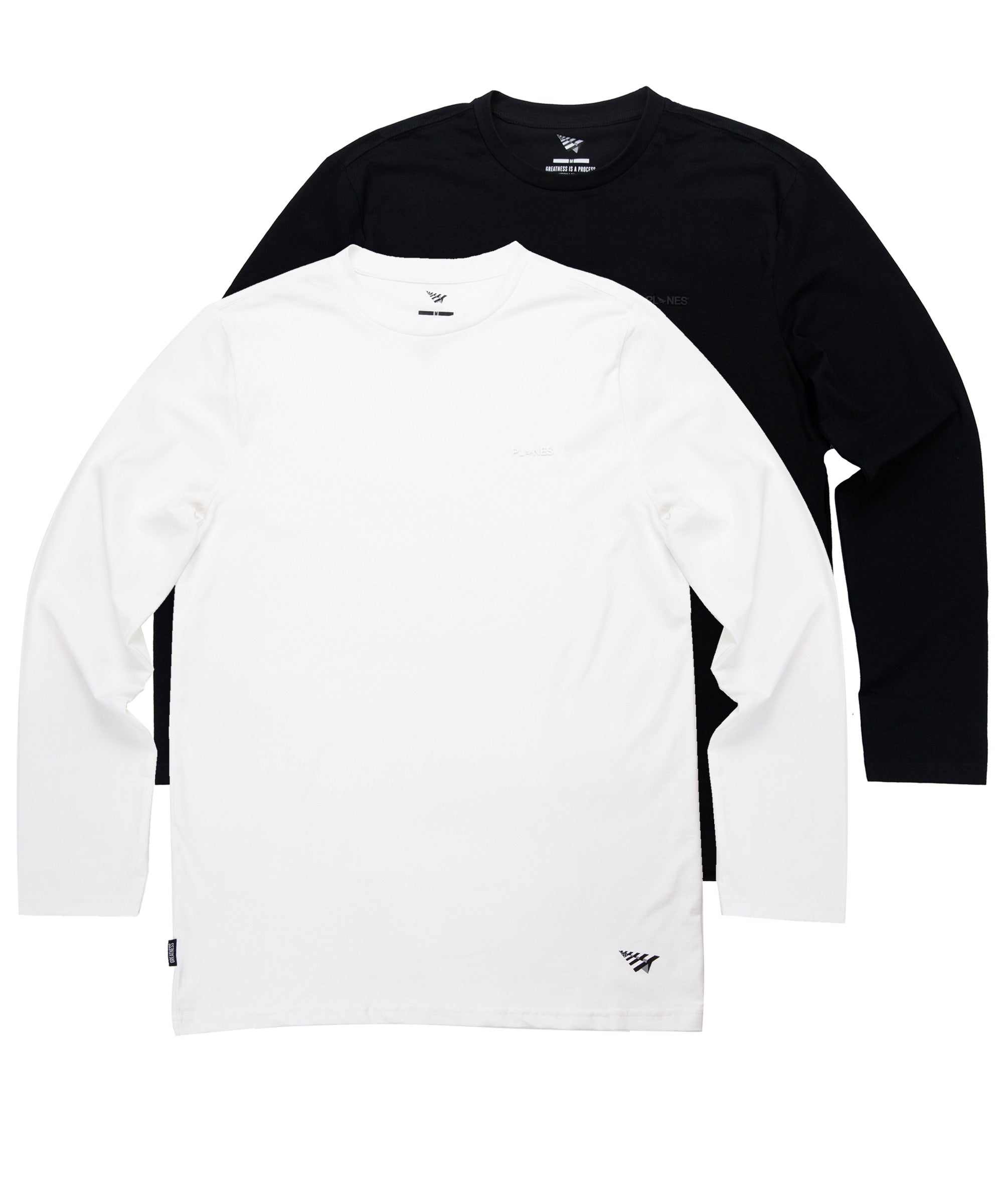 Essential 2 Pack Long Sleeve Tees