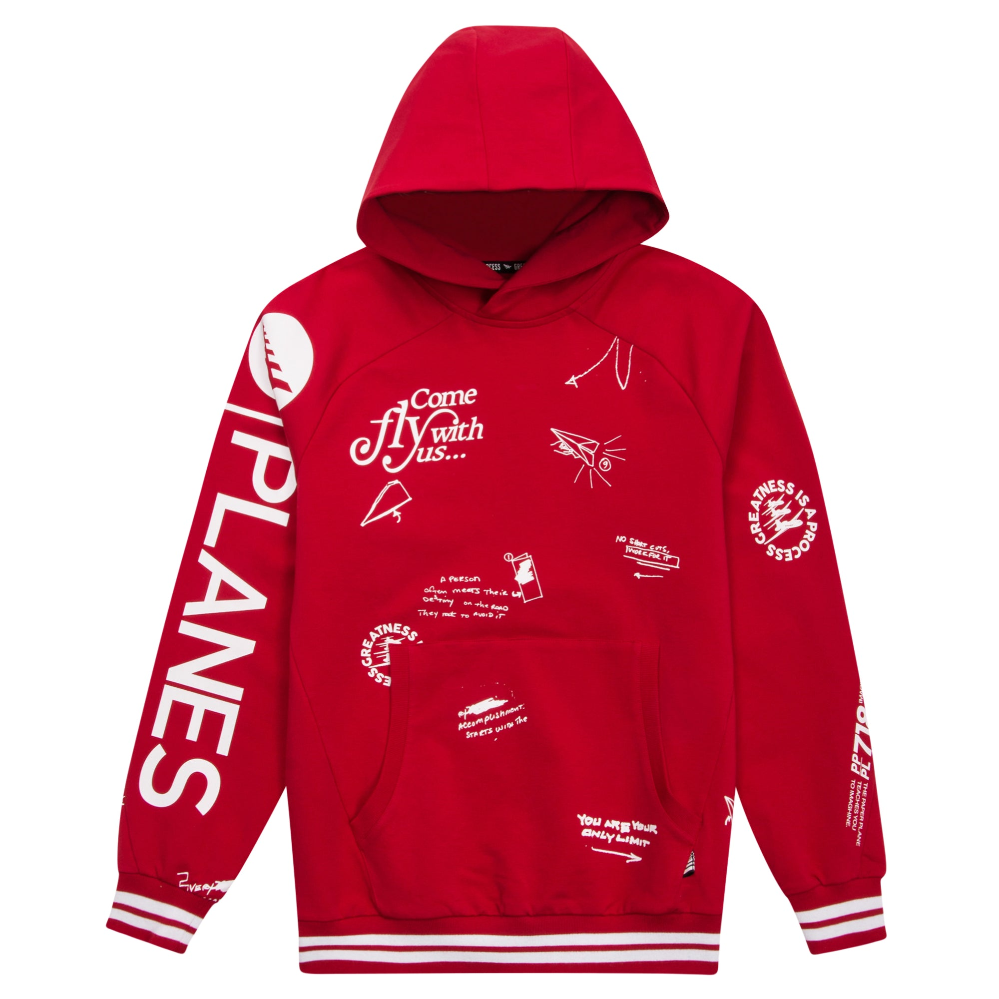 Planes First Fold Hoodie