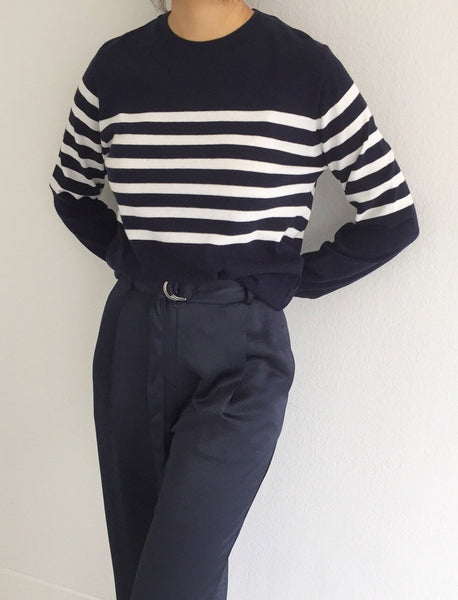 Style A Striped Sweater Locolips Canada