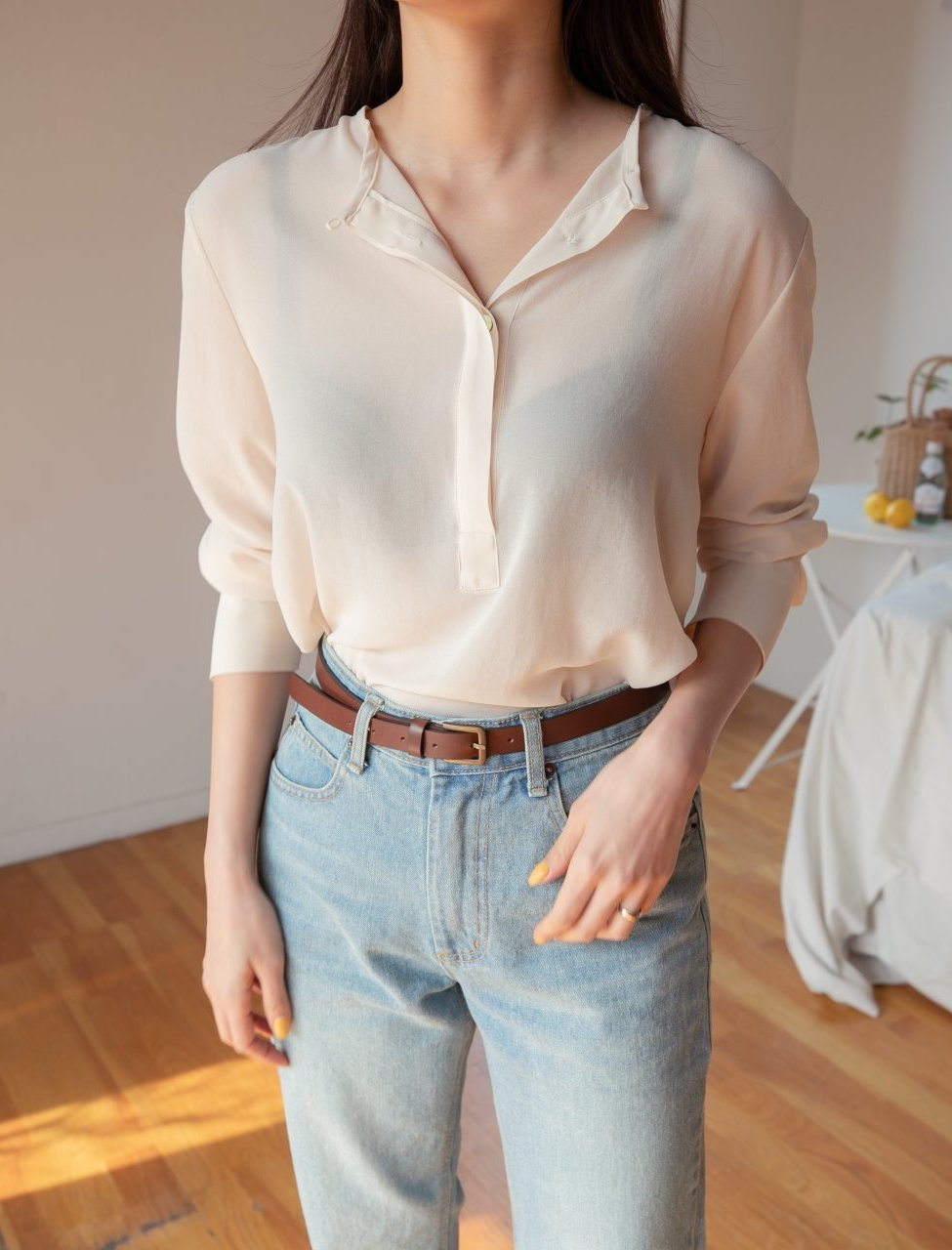 The Clean Blouse Spring Tops 2019 Women's Texas - LOCOLIPS