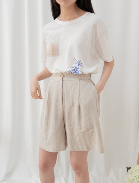Linen jacket and shorts - LOCOLIPS