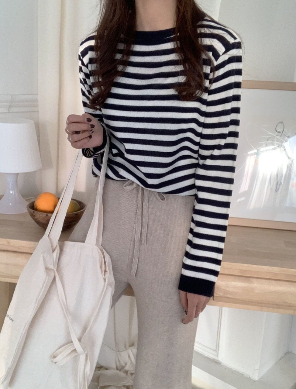 Days of Spring Striped Sweater (3 colors) - LOCOLIPS