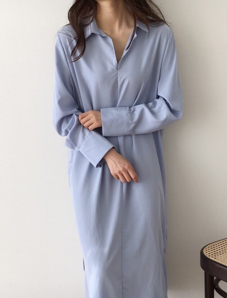 Shirt Dress With Modal LOCOLIPS