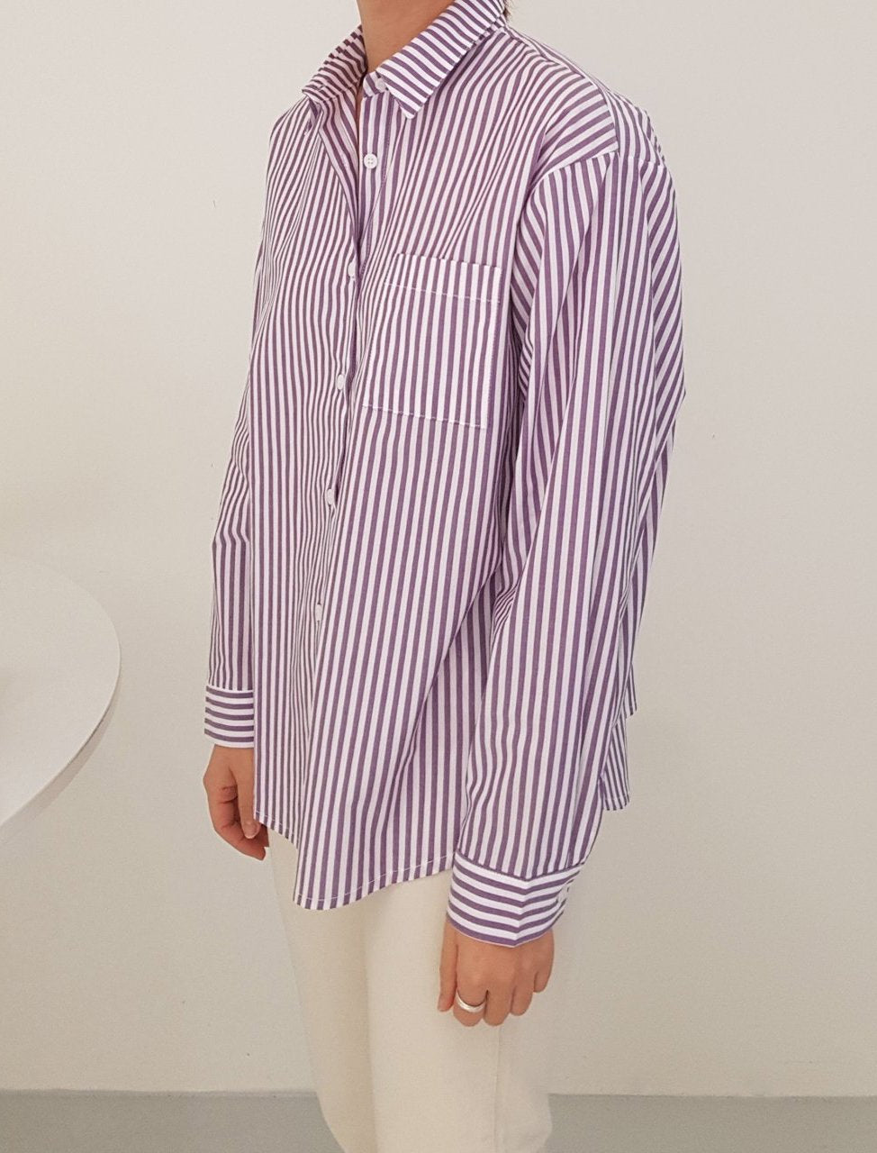 Striped Shirt Outfits - LOCOLIPS