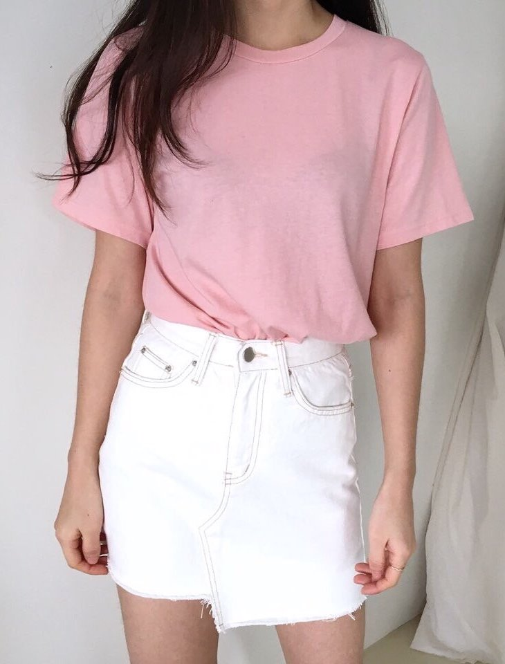 MODERN HALF T-SHIRT (5 COLORS) - LOCOLIPS