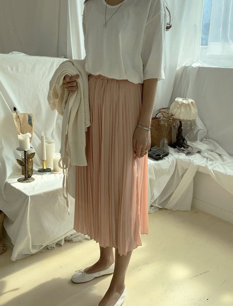 Pleated Skirt Pattern Free | Korea Fashion Trends Women's | LOCOLIPS