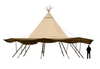 1 Giant Tipi by The Zest Group WA