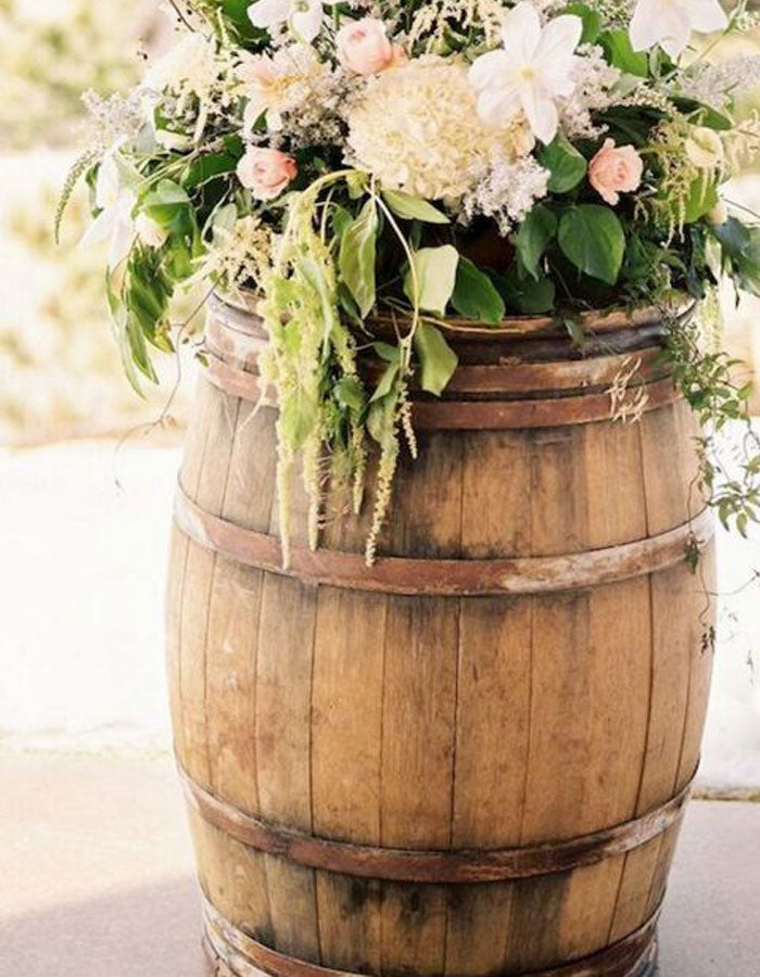 Full Wine Barrel