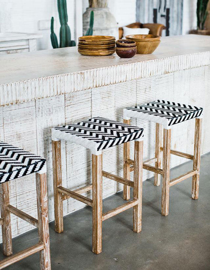 Tribal Bar Stool by MOBO