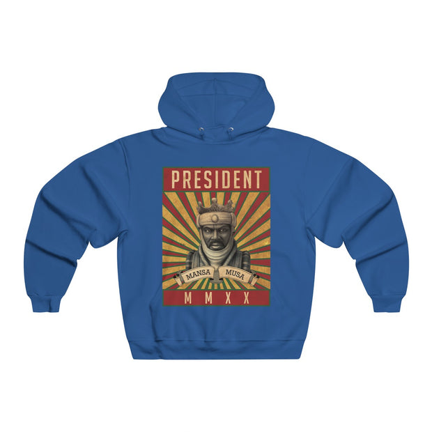 Mansa Musa For President 2020 - Men's NUBLEND® Hooded Sweatshirt