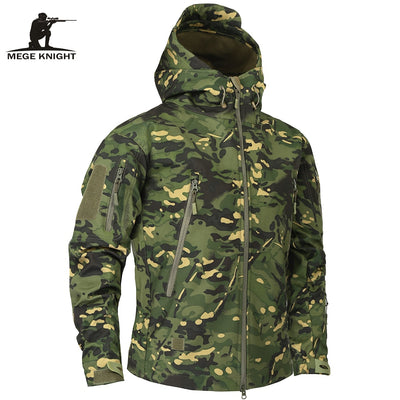Men's Military Camouflage Fleece