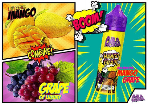 Ara Nostra - Mango Grape 60ml - Cloud 9 Australia Vapes E-Juice Ara Nostra