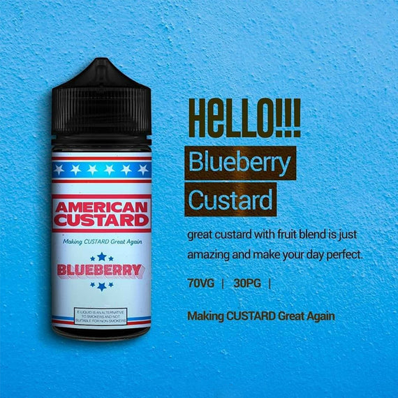 Silos Juice - American Custard Blueberry 60ml