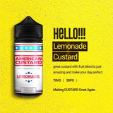 Silos Juice - American Custard Lemonade 60ml