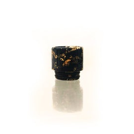 Drip Tip - 810 Gold Swirl Resin (DTF807)