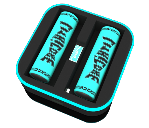 Lithicore - Pulse 2 Bay Battery Charger