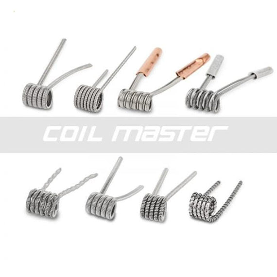 cloud-9-australia-vapes - Coil Master Skynet 8 in 1 Pre-Built Coils - Coil Master - Coil