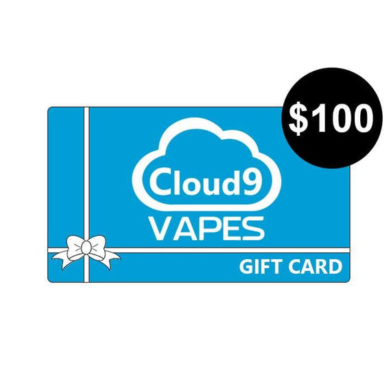 cloud-9-australia-vapes - Gift Card (Please Select Value) - Cloud 9 Australia Vapes - Gift Card