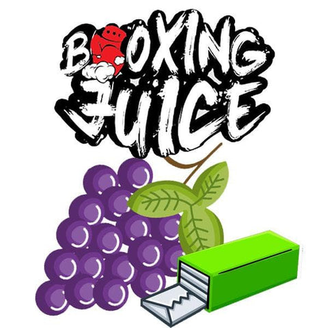 cloud-9-australia-vapes - Boxing Juice - Grape Berry Gum 60ml - Boxing Juice - E-Juice