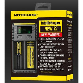cloud-9-australia-vapes - Nitecore - i2 Battery Charger - Nitecore - Charger