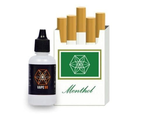 Vape 98 - Menthol Tobacco 30ml - Cloud 9 Australia Vapes E-Juice Vape98