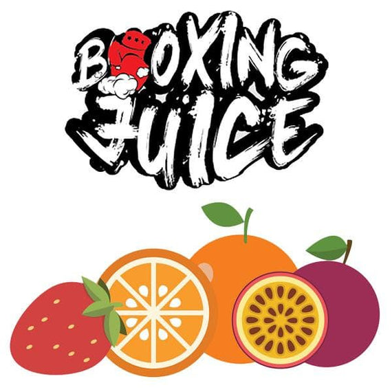 cloud-9-australia-vapes - Boxing Juice - Strawberry Orange Passion 60ml - Boxing Juice - E-Juice