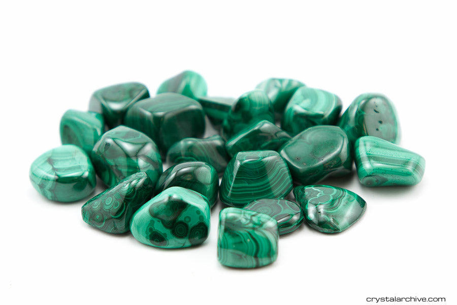 Green Malachite - Crystal Archive