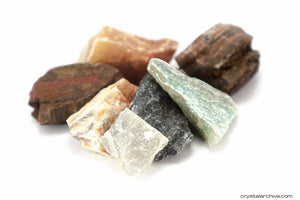 Raw Mixed Stones - Crystal Archive