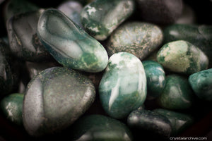 Moss Agate - Crystal Archive