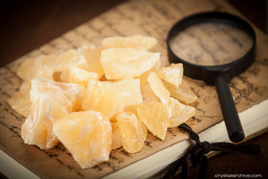 Raw Orange Calcite - Crystal Archive