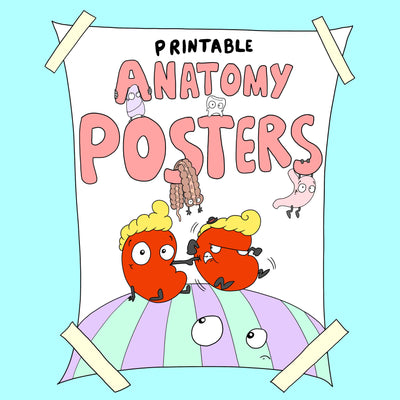 Printable Anatomy Posters (High Res)