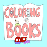 Colouring Pages and Colouring Books